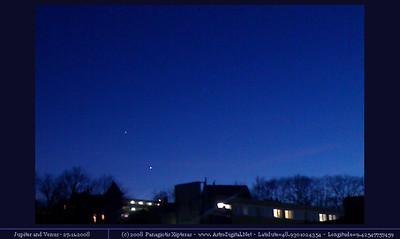 Jupiter & Venus - 27.11.2008