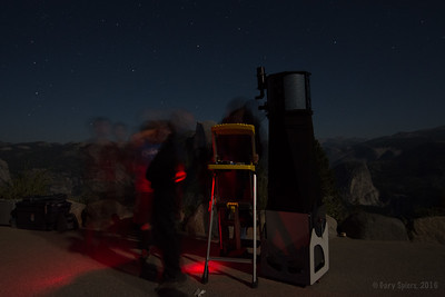 Ghosts at Mojo's telescope!