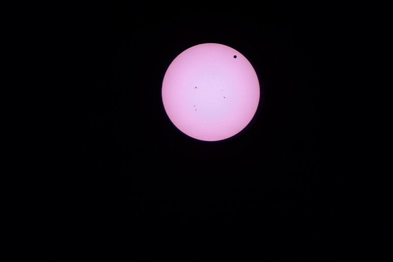 The transit of Venus across the sun on June 5th, 2012. This won't happen again for another 105 years.