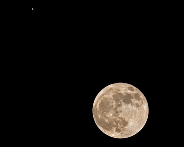 Moon with Jupiter 2 - November 28, 2012