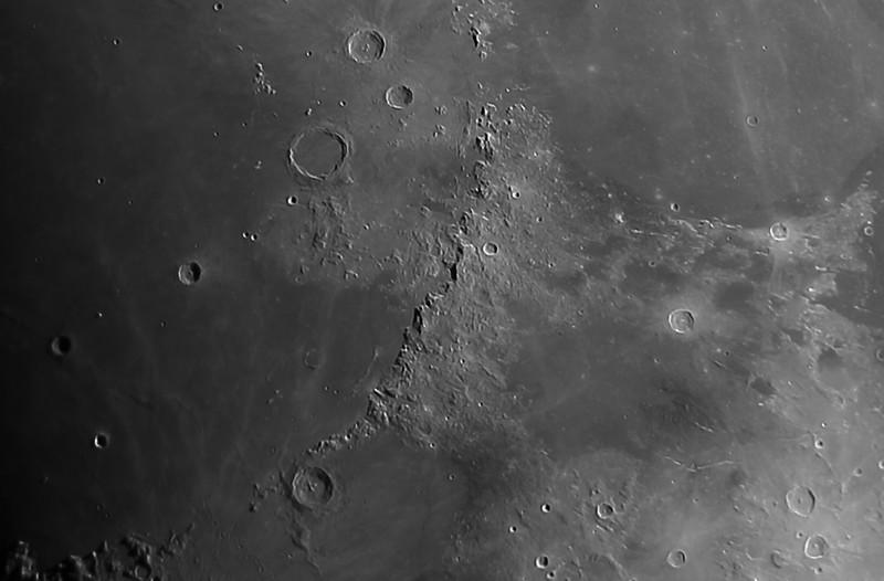 Moon - DSLR images - December 27, 2017