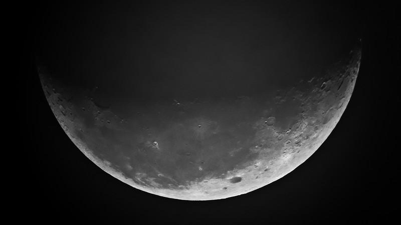 Moon - Low Contrast - July 17, 2017