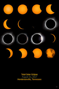 Total Solar Eclipse with Eclipse Text - sizes 8 x 12, 12 x 18 and 24 x 36 - multiple finishes and wall hangings