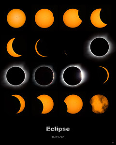 Full Eclipse Poster 8 x 10