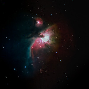 M42 with Star Spikes and Flat Field Final