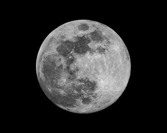 "Full Blue ""Sap"" Moon - March 30, 2018"