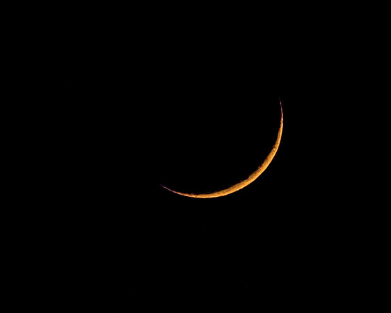 Moon - Crescent - April 17, 2018