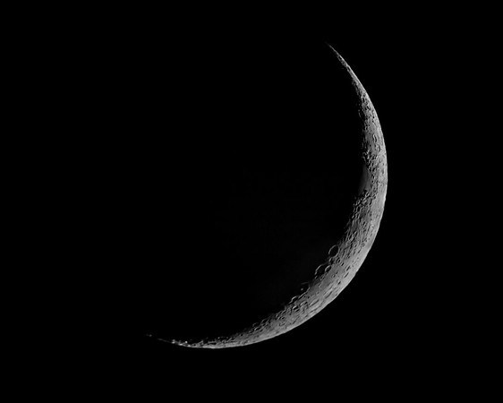 New Crescent Moon - October 11, 2018