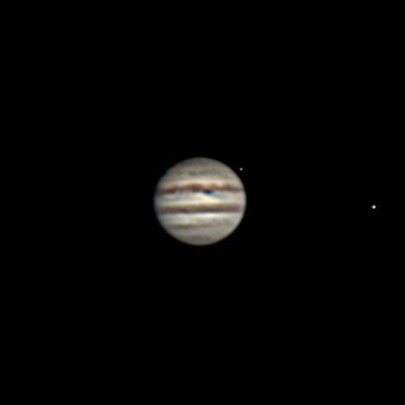 Jupiter - AVX8, ZWO ASI224MC - February 27, 2018