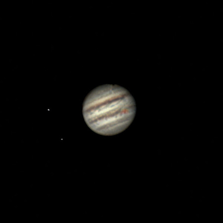 Jupiter - Celestron AVX 8, ASI224MC - January 19, 2018