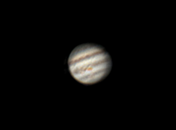 Jupiter - Celestron Nexstar 6SE, ASI 224 MC - January 14, 2018
