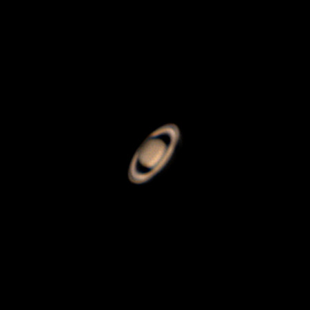 Saturn - morning, poor seeing - March 14, 2018