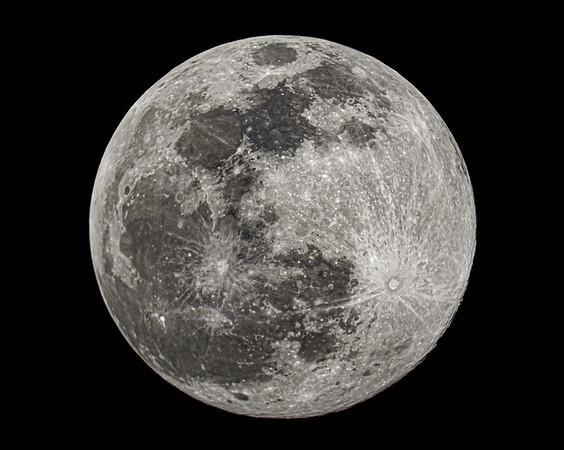 "Full ""Snow"" Moon - February 8, 2020"