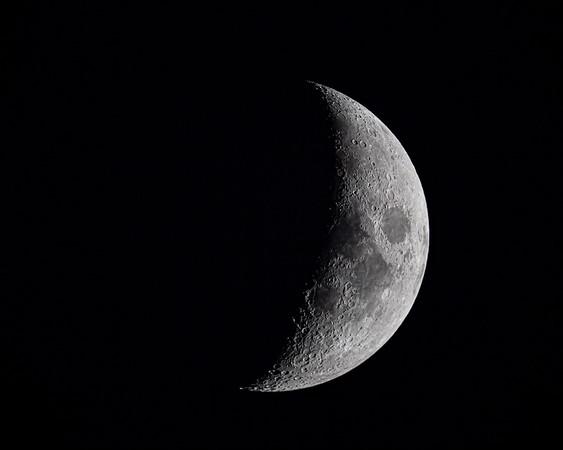 Half Waxing Moon - 10-22-20