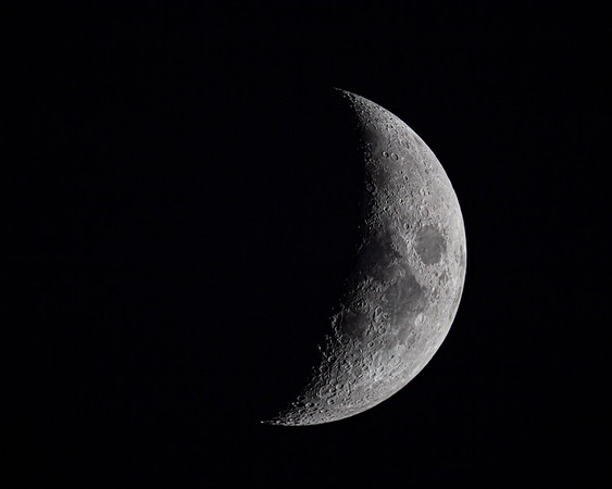 Nearly Half Waxing Moon - 10-21-20