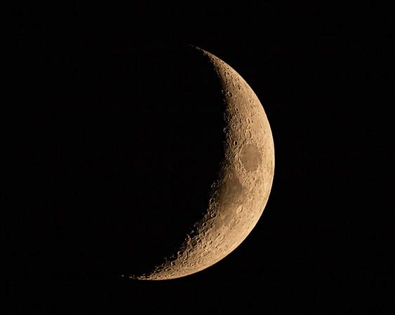 Waxing Crescent Moon - 10-20-20