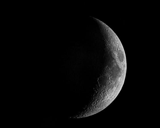 Waxing Crescent Moon - 6-25-20