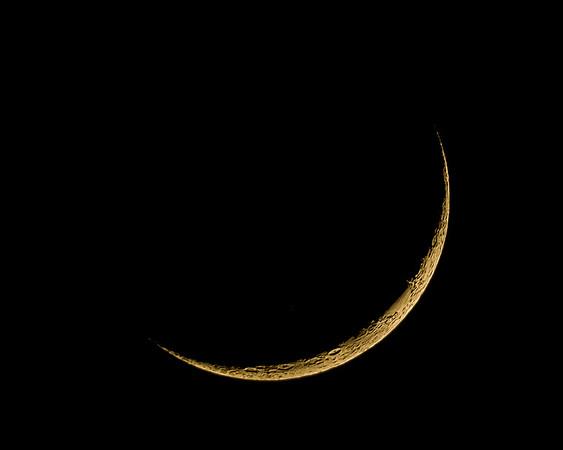 Waxing Crescent Moon - May 24, 2020