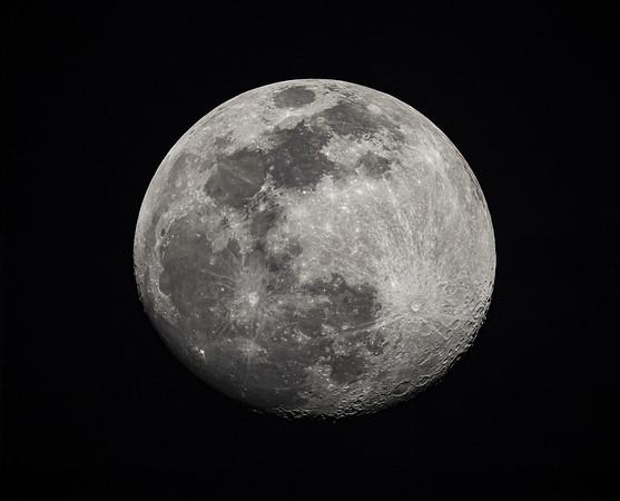 Waxing Moon - April 5, 2020