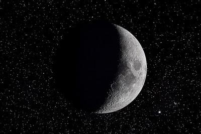 Moon and Stars Flat