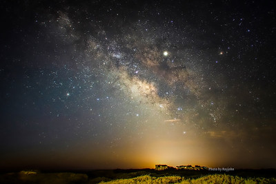 Milky Way over the Outer Banks of North Carolina