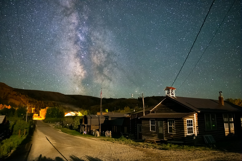 Milkyway Over Atlantic City Wyoming