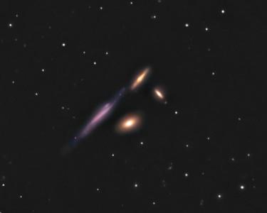 NGC4169   The Box Galaxy Group  Location: Gibsonia, PA   Equipment: Imaging Camera = Atik 383L Camera  Autoguiding Camera = Atik 16IC  Telescope = Nexstar 11 SCT Mount = CGEM  Exposures = multiple 5 min. L, R, G, B 2x2bin  Software = Maxim DL and Photoshop CS5