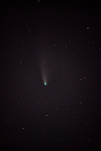 Comet NEOWISE and Cosmos 1110 Rocket