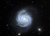 Messier 100, spiral galaxy in the Virgo Cluster.  Schulman Foundation 24 inch telescope on Mt. Lemmon, AZ, using SBIG STL-11000M camera.  Data frames by Adam Block.  LLRGB processing using Maxim DL, CCDSharp, Digital Development, and Photoshop CS3 by JDS.