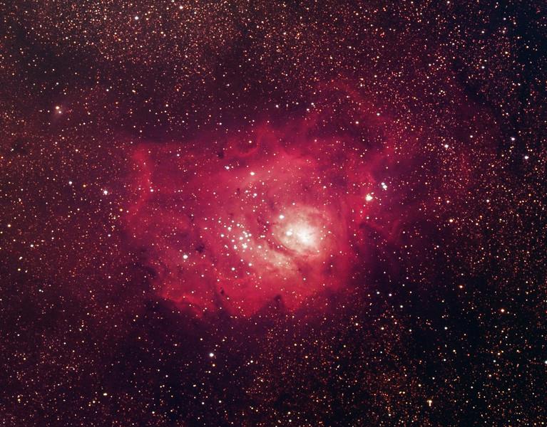 Messier 8, Lagoon nebula