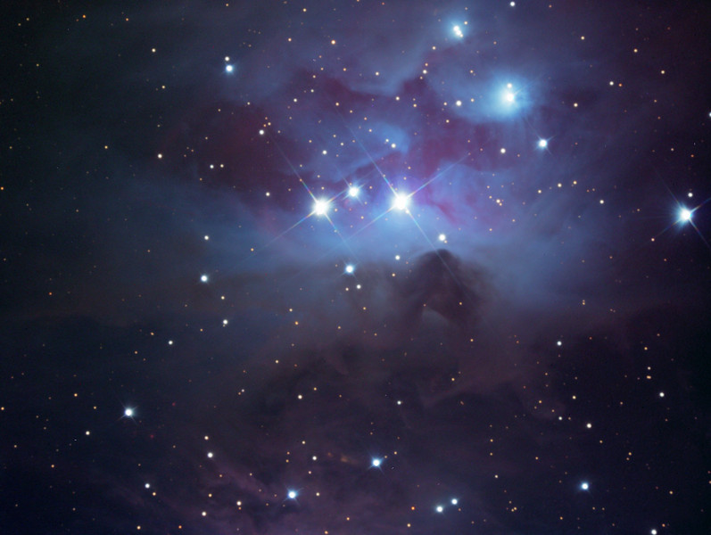 NGC 1977 reflection nebula in Orion