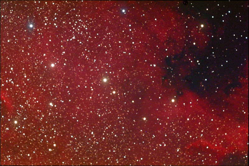NGC 7000, North American nebula