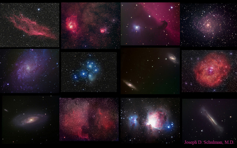Composite of some early astroimages