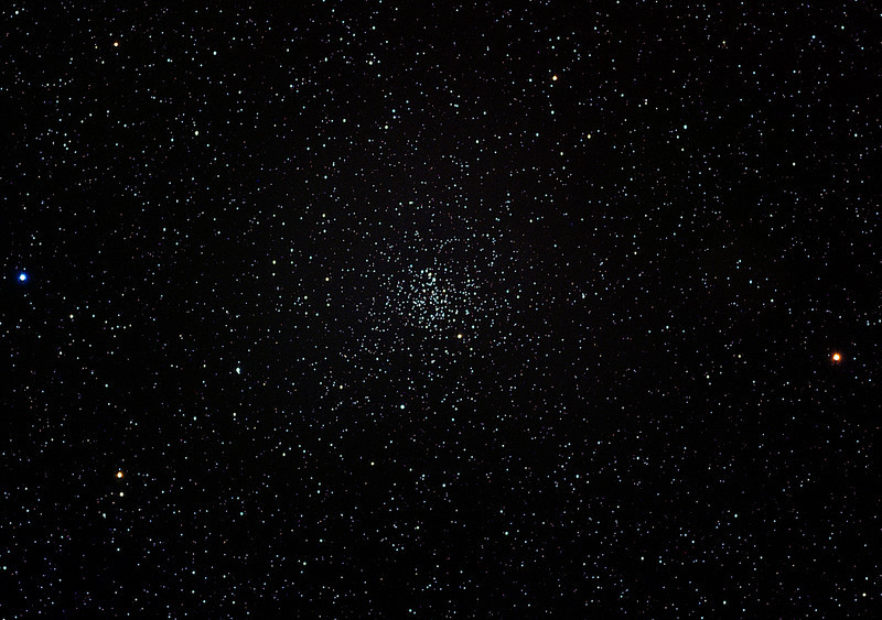 Messier 67, loose globular cluster, wide angle