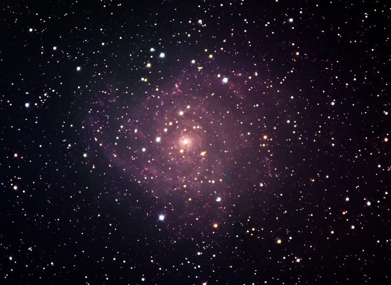 IC 342 spiral galaxy