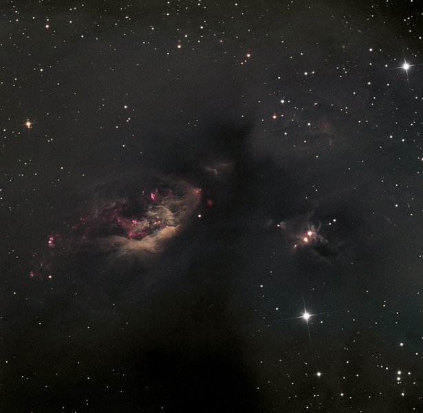 Sh2-239 nebular complex.  32 inch Schulman telescope with STX camera on Mt. Lemmon, AZ.  Approximately 15 hours of time exposure. Data capture by Adam Block, University of Arizona. Processing by JDS using CCDStack and Photoshop CS5.