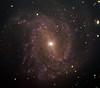Messier 83 spiral galaxy