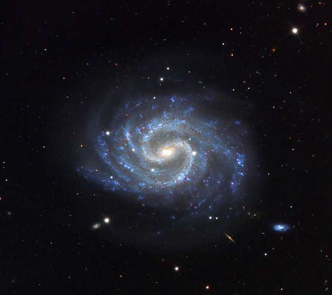 NGC4535, spiral galaxy.  Schulman Foundation telescope on Mt. Lemmon.  Data from Adam Block, processing by JDS.  In memory of Professor Louis Sackler.