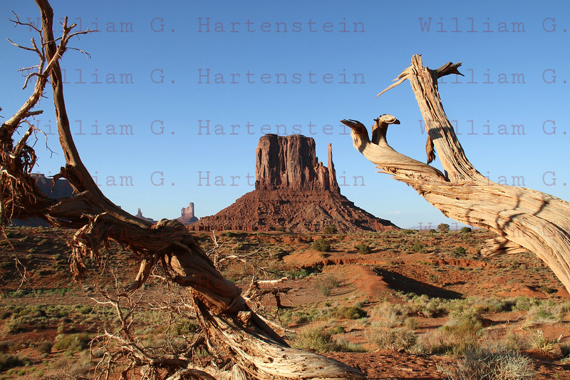 Monument Valley Arizona on May 19, 2012