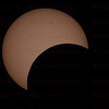 May 20, 2012 Annular Eclipse from Monument Valley, AZ. Celestron 8  with Canon 5D