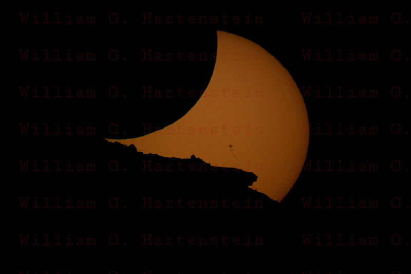 Annular Eclipse May 20, 2012 from Monument Valley Arizona