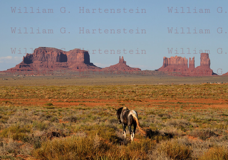 Monument Valley Arizona on May 19, 2012
