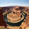 Fisheye of HorseShoe Bend, Page, Arizona May 20, 2012