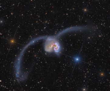 Antennae Galaxies collaboration: Ultra-Deep High Resolution View