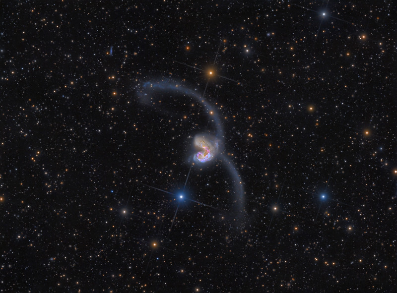 The Antennae Galaxies - Extreme Deep Field - 75 Hours