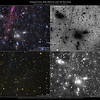 Antlia Cluster (Abell S0636) Extreme Deep Field: Comparison with DSS and GALEX fields