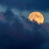 18/09/2013 – 19:13 Luna crescente 97.2%  sopra Sestri Levante, Liguria, Genoa Italy