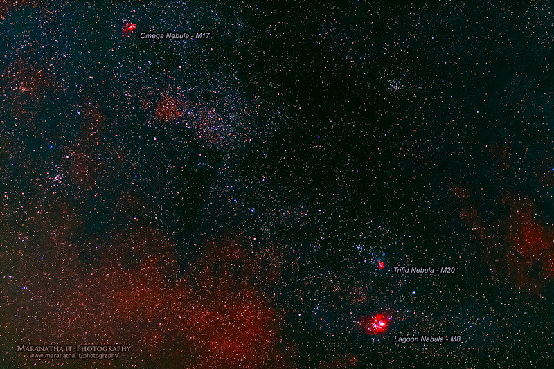 15/07/2014 – 22:51 Milky Way Galaxy - Appennini Liguri, entroterra di Sestri Levante. Riviera Ligure di Levante, Genoa Italy
