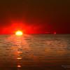 16/12/2013 – 16:42  Tramonto sul Mar Ligure - Golfo del Tigullio. Sestri Levante, Genoa Italy