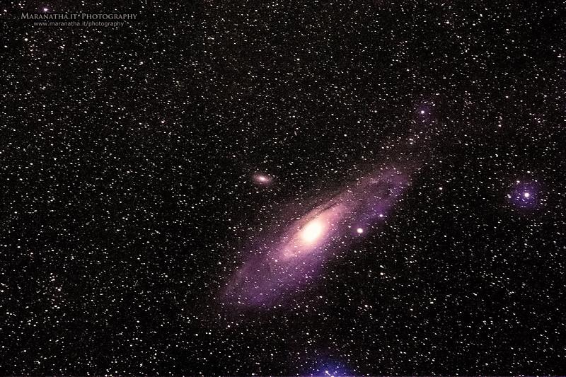 26/09/2014 – 22:17 Andromeda Galaxy (M 31 – NGC 224); distanza 2,3 milioni anni luce. Appennini Liguri, entroterra di Sestri Levante. Golfo del Tigullio, Riviera Ligure di Levante, Genoa Italy